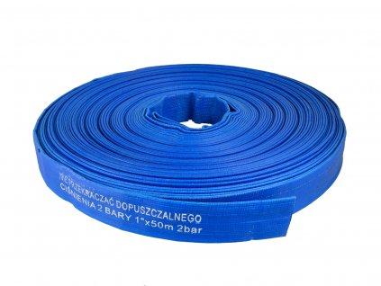 "Plochá hadica PVC 1"" 50m"