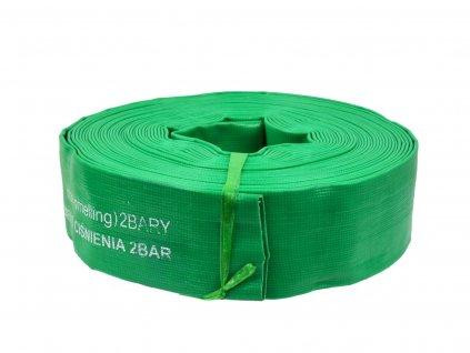 "Plochá hadica PVC 2"" 19m"