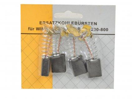 Uhlíky do uhlovej brúsky 230+ 4ks 8x14x17mm