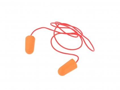 Chránič sluchu, štuple do uší s vláknom 50ks