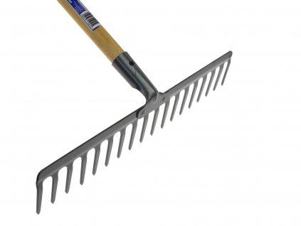 Hrable 18-zubové 47cm s dreveným poriskom