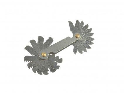 155735 1 zavitove mierky na meranie stupania zavitov 0 25 6mm