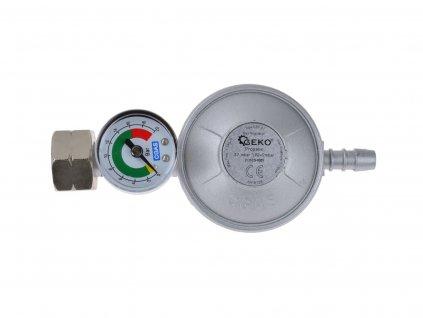 Regulátor tlaku plynu 37mbar 11kg s manometrom