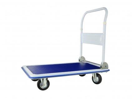 Prepravný plošinový vozík 300kg skladací