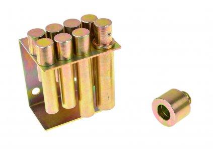 Sada vytláčacích tŕňov/adaptérov pre hydraulický lis 8ks
