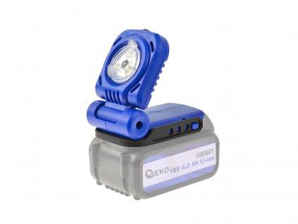 Akumulátorové LED svietidlo 18V Geko One Power