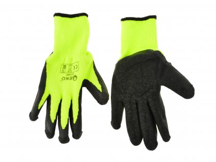 "Pracovné rukavice zateplené 8"" GREEN"