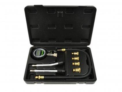 Tester, merač kompresie pre benzínové motory LCD