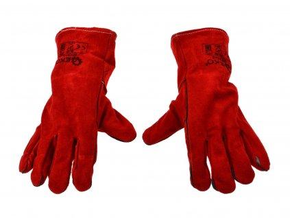 """Kožené zváračské rukavice 13"""""""