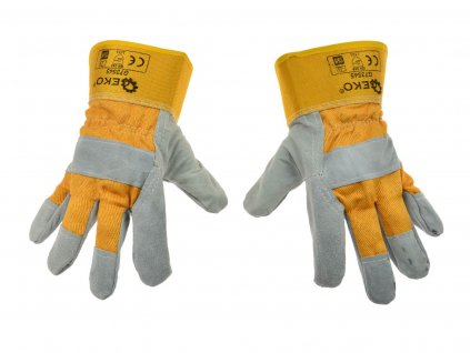 """Kožené pracovné rukavice kombinované 10.5"""""""