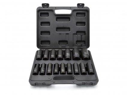 """Sada 16ks kovaných nástrčných kľúčov 1/2"""" 10-32mm"""