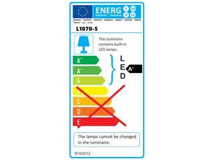 Dielenská lampa 50W SMD LED, Economy, stojan, IP65 - L1070-5