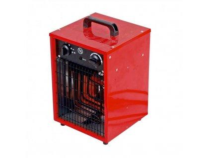 Elektricky ohrievač vzduchu 1650/3300W, termostat, funkcia ventilátora