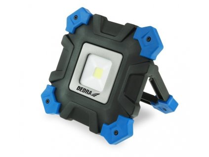 Dielenská lampa 10W COB LED, nabíjačka 230V, USB, microUSB