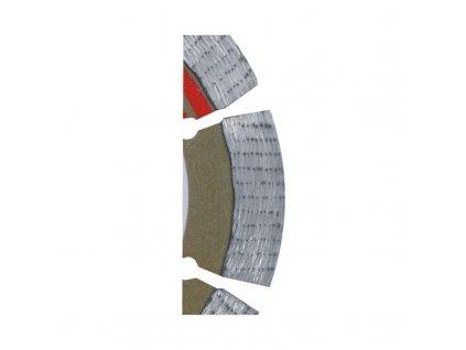 Diamantový rezný segmentový kotúč 115mm/22,2 MULTI-LAYER
