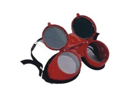 Kovové zváračské okuliare DEDRA
