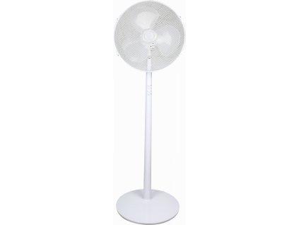"""Stojanový ventilátor 16"""", biely 40W"""