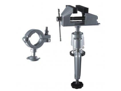 Zverák stolový modelársky 75/50mm s kĺbom - 12A107