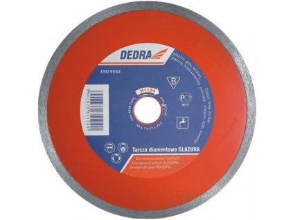 Kotúč diamantový Glaz. 200x25,4mm DEDRA
