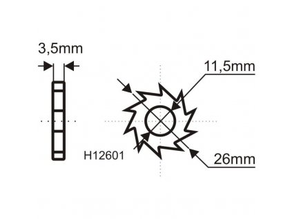 Brúsny kotúč na odstránenie farieb a lepidiel 135mm - H1260