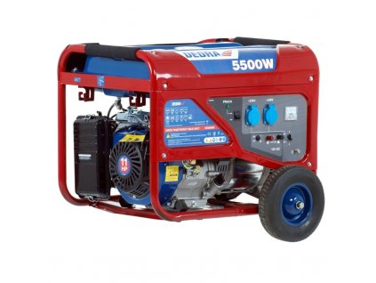 Elektrocentrála - generátor 5000W DEDRA