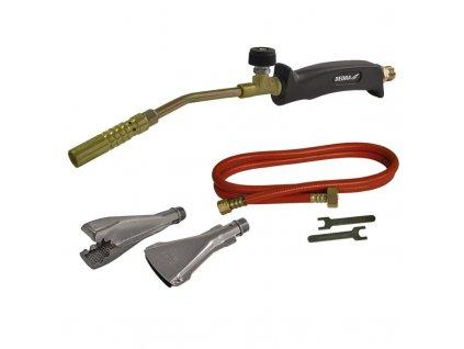 Spájkovacia súprava, trysky 17mm, 22mm, 40mm, hadica 2m