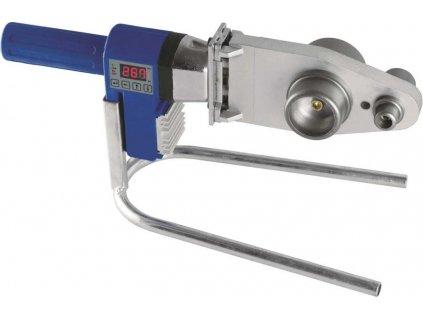Zvárač plastových trubiek 800W, LCD display, presná regulácia teploty, kovový kufrík.