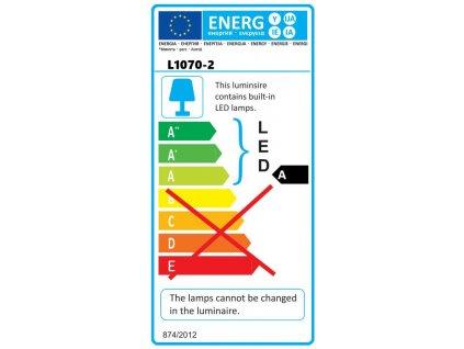 Dielenská lampa 20W SMD LED, Economy, stojan, IP65