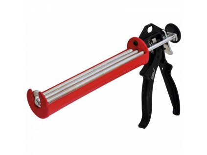 Rámová aplikačná pištol na tuby, rotačná tuba, trojitá vodiaca lišta do hustej hmoty