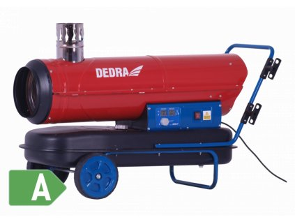 Naftový ohrievač s kominom 30kW - DED9955TK