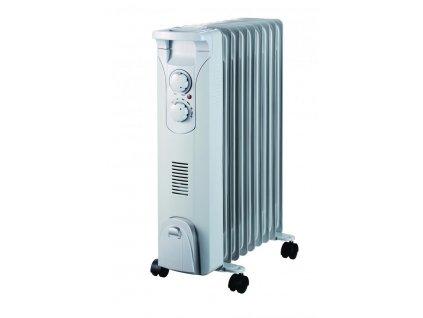 Olejový radiátor 2000W+ventilátor 400W - DA-J2052F