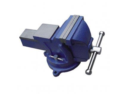 Zverák stolový zámočnícky 125/110mm, 10,5 kg otočný - 12A412