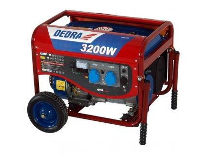 Elektrocentrála - generátor 2800W DEDRA