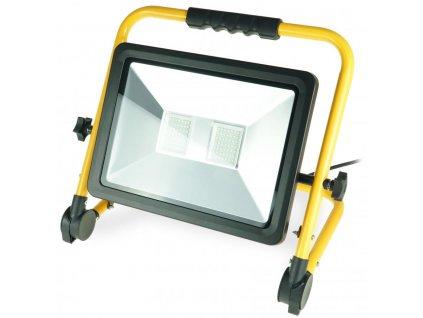 Dielenská lampa 100W SMD LED, ALU panel, stojan, IP65
