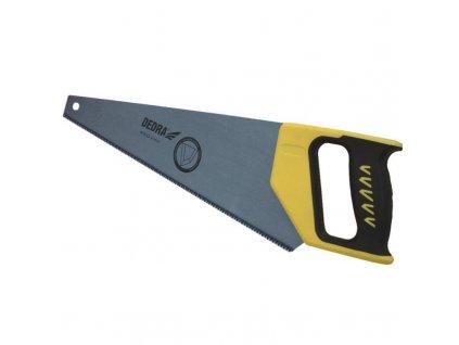 Pílky  ručné trojuholníkové  400mm, rúčka gumená, zuby kalená oceľ