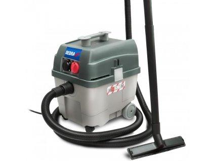 Priemyselná vysávač s automatickým čistiacim filtrom 1,4kW, 27L - DED6604