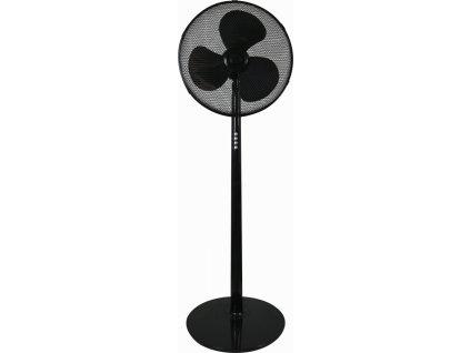 """Stojanový ventilátor 16"""", čierny 40W"""