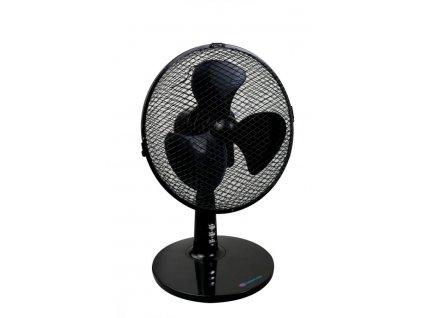 """Stolový ventilátor 9"""", čierny"""