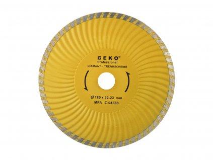Diamantový kotúč 180 turbo Plus GEKO PROFI (50)