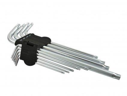 Sada kľúčov Torx T15-55 / 260 mm GEKO (24)
