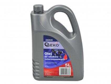 Olej 4-taktný olej GEKO (3)