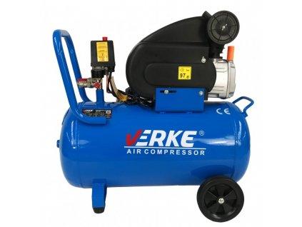 Olejový kompresor 50L, 3KS, VERKE V81103