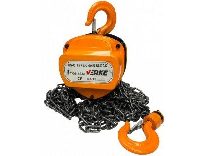 Kladkostroj reťazový 1T, VERKE V87265