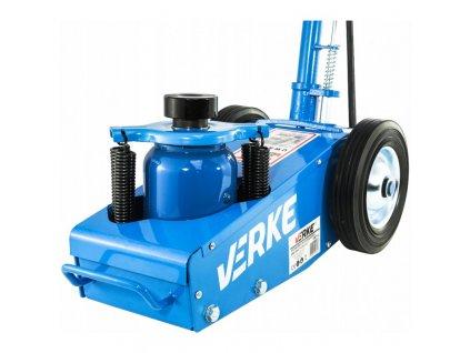 Hydropneumatickým Pneumatický zdvihák 22T (modrý), VERKE V80115