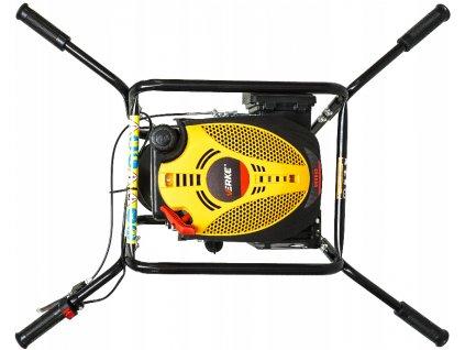 Benzínový pôdne vrták 4,5 kW, VERKE V90045