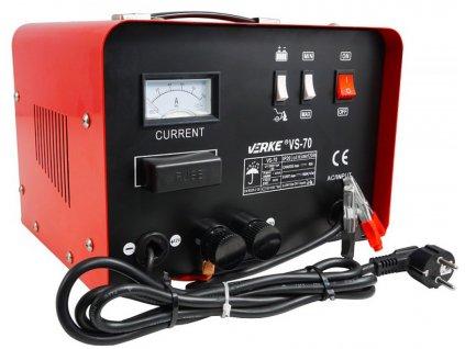 Nabíjačka akumulátora 12 / 24V, 30A, VERKE V80005