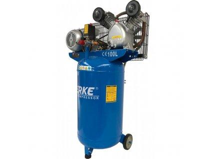 Olejový kompresor vertikálne 100L, 3KS, VERKE V81110