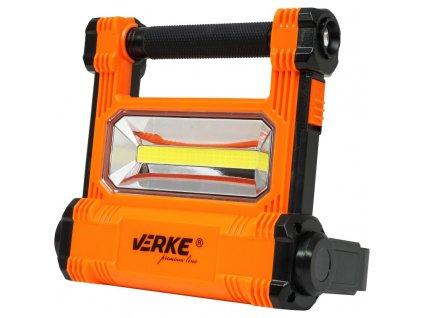 LED svietidlo 20W s nabíjacím Li-ion akumulátorom 4400mAh a odnímateľnou baterkou, VERKE V87531