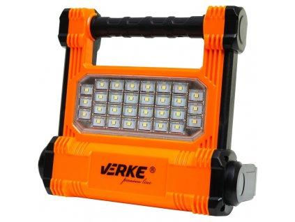 LED svietidlo 10W s nabíjacím Li-ion akumulátorom 2200mAh, VERKE V87530