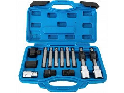 Kľúče na alternátor, súprava 13 ks na spojkové alternátory, VERKE V86220